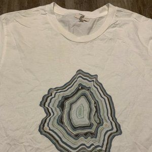 Free People Graphic aeryne t-shirt SZ Medium